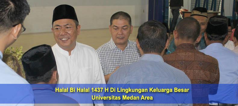 UMA Melaksanakan Halal Bi Halal 1437 H