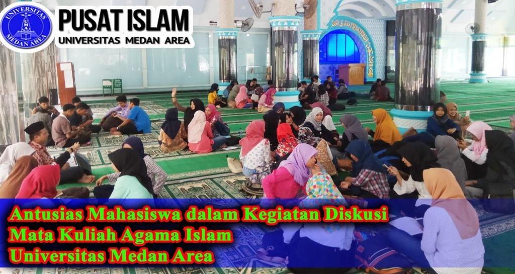 Kegiatan Diskusi Kelompok Mata Kuliah Agama Islam