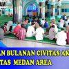 Pengajian Bulan Agustus Bagi Civitas Akademika Universitas Medan Area