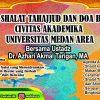 Dzikir, Tahajjud, dan Doa Bersama Civitas Akademika Universitas Medan Area Bulan Desember Tahun 2018