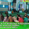 Membaca Al-Qur'an Bersama dan Berdoa di Masjid Taqwa Universitas Medan Area