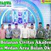 Pengajian Bulanan Civitas Universitas Medan Area Bulan Oktober 2019