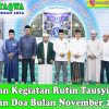 Dzikir, Tahajud dan Doa bersama Civitas Akademika Universitas Medan Area November 2019