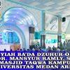 Tausyiah Ba'da Dzuhur di Masjid Taqwa Kampus I Universitas Medan Area