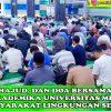 Dzikir Bersama Bulan Oktober 2018 di Masjid Taqwa Kampus I Universitas Medan Area