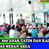 Santunan Anak Yatim dan Kaum Dhuafa Yayasan Pendidikan Haji Agus Salim Universitas Medan Area