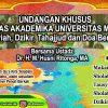 Pelaksanaan Kegiatan Rutin Bagi Civitas Universitas Medan Area Bulan November 2019