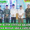 Pengajian Rutin Civitas Akademik Universitas Medan Area Januari 2020